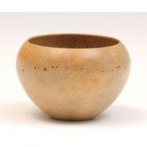 Brazil nut husk bowl