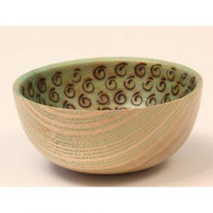 Ash pyro coloured bowl