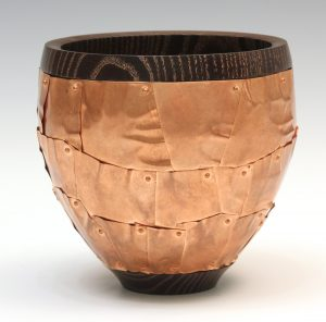 Copper clad vessel by Paul Hannaby Creative Woodturner