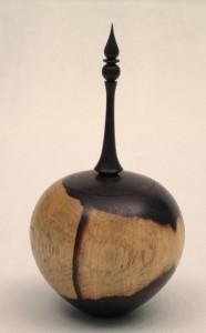 African blackwood box