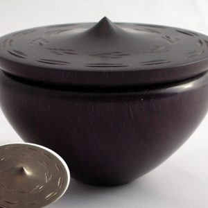 African blackwood box