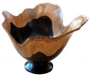 African blackwood bowl