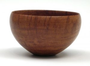 Brown oak bowl