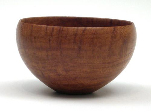 Brown Oak Bowl