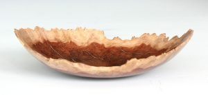 Coolibah burr natural edge bowl