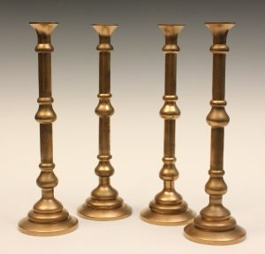 Dr Who candlesticks