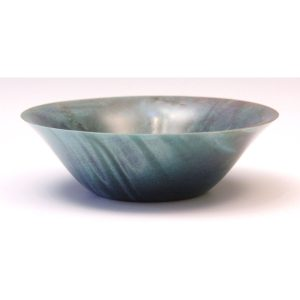 Coloured horse chestnut bowl by Paul Hannaby