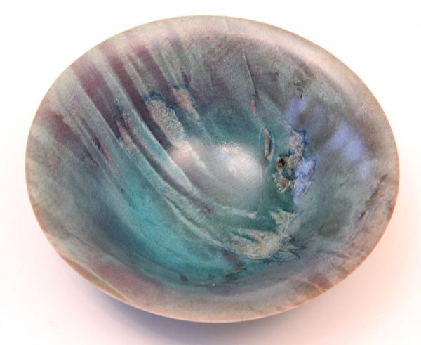 Coloured horse chestnut bowl by Paul Hannaby
