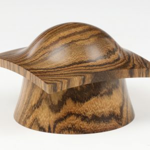 Bocote pagod abox turned by Paul Hannaby creative woodturning