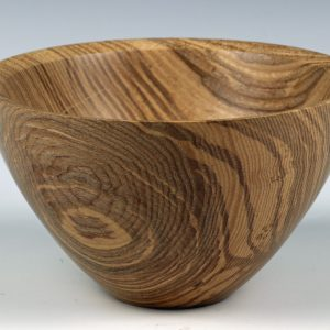 Ash bowl turned by Paul Hannaby creative woodturning