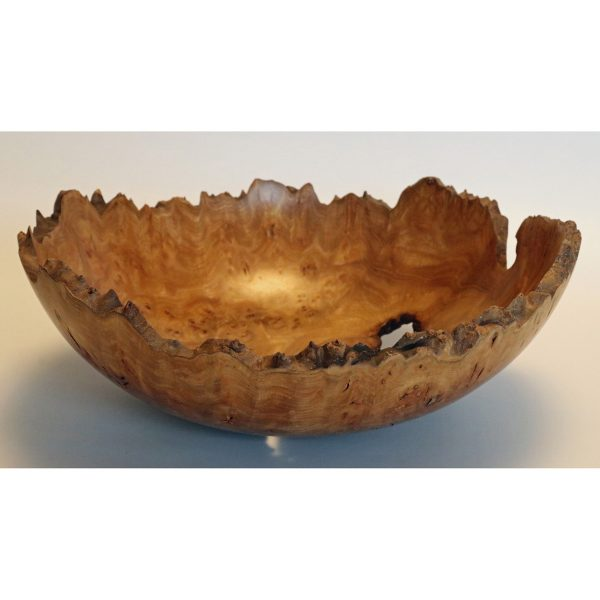 Burr elm bowl turned by Paul Hannaby creative woodturning